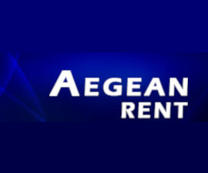 aegean rent logo